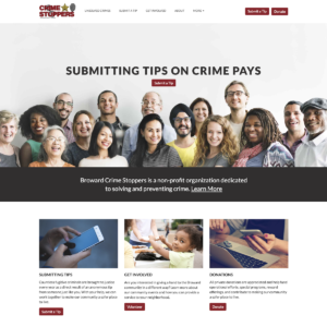 New Website Broward Crime Stoppers