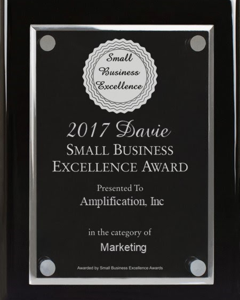 Davie Small Business Excellence Award